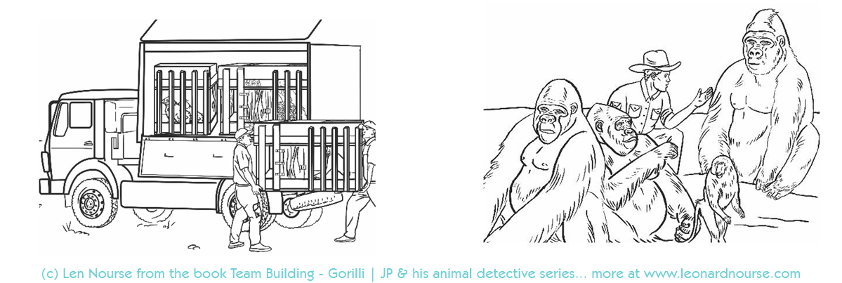 Book one - JP and his animal detectives